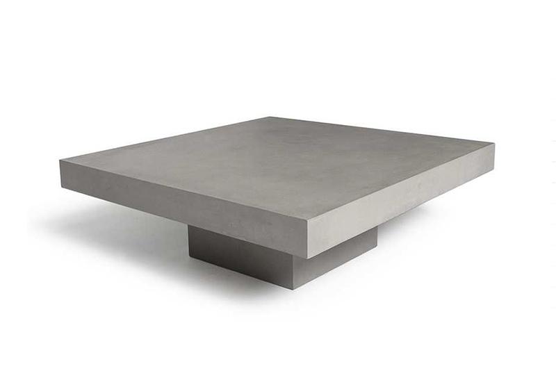 Meuble design en béton de la collection Lyon en vente avec SANAKA Design