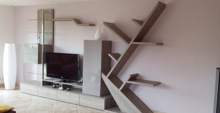 Création originale pour un meuble TV par SANAKA Design