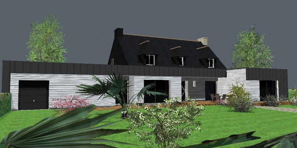 extension d 39 une maison n o bretonne sur ploemeur sanaka design. Black Bedroom Furniture Sets. Home Design Ideas